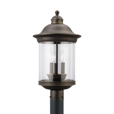 Sea Gull Lighting 82081-71 Three-light Hermitage Post Lantern