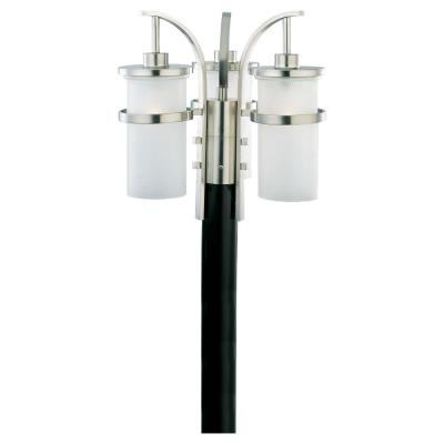 Sea Gull Lighting 82115-962 Three Light Eternity post light