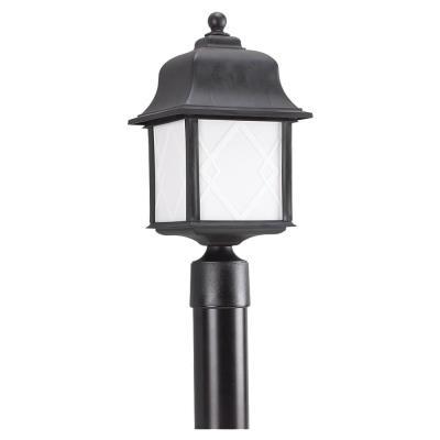 Sea Gull Lighting 82192BL-12 Harbor Point - One Light Outdoor Post Lantern