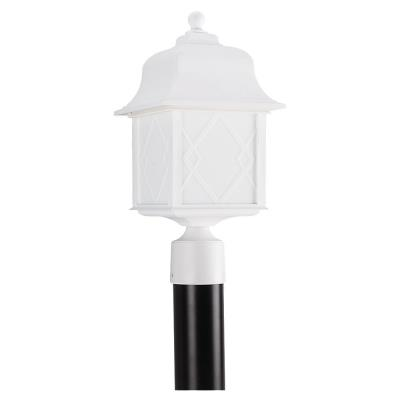 Sea Gull Lighting 82192BL-15 Harbor Point - One Light Outdoor Post Lantern