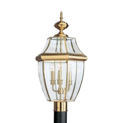 Sea Gull Lighting 8239-02 Three Light Outdoor Post Fixture