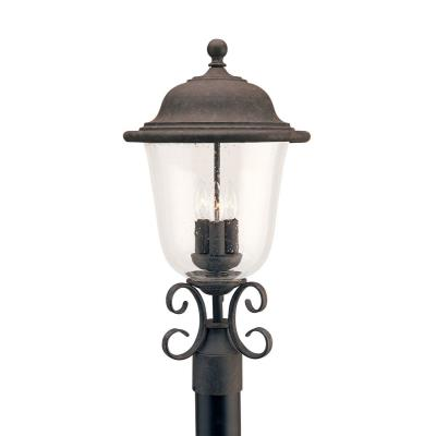 Sea Gull Lighting 8259-46 Three Light Outdoor Post Fixture