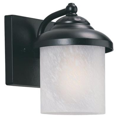 Sea Gull Lighting 89048PBLE-12 Single-Light Yorktowne Wall Lantern
