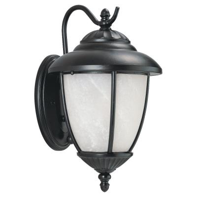 Sea Gull Lighting 89049PBLE-12 Single-Light Yorktown Wall Lantern