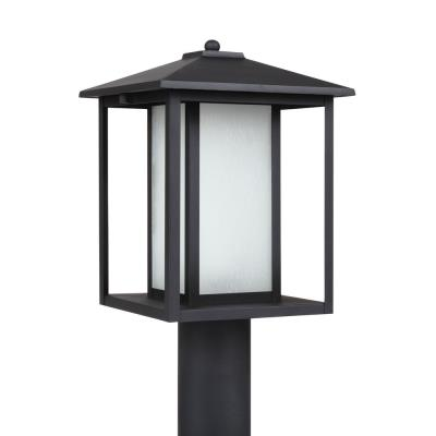 Sea Gull Lighting 89129BL-12 Hunnington - One Light Outdoor Post Lantern