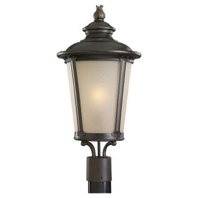 Sea Gull Lighting 89240BL-780 Single-Light Post Lantern