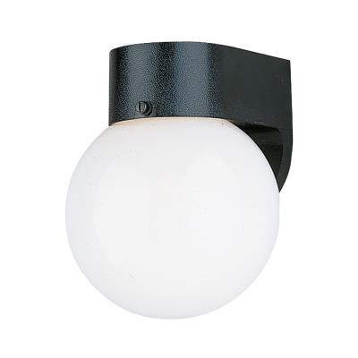 Sea Gull Lighting 8955PBLE-12 Single-Light Outdoor Wall Lantern