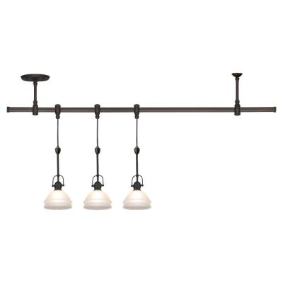 Sea Gull Lighting 94514-71 Three Light Trenton Pendant Rail Kit