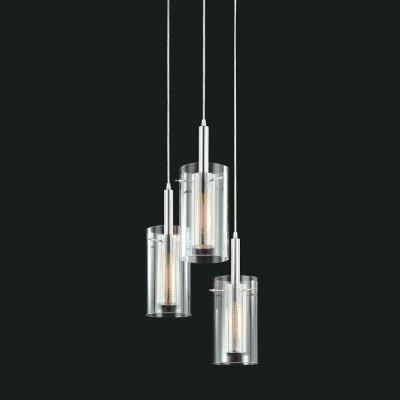 Sonneman Lighting 4395.57 Zylinder - Three Light Adjustable Pendant
