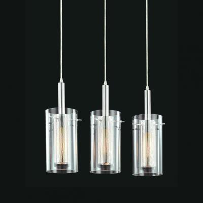 Sonneman Lighting 4396.57 Zylinder - Three Light Rectangluar Pendant