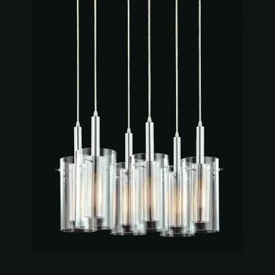 Sonneman Lighting 4398.57 Zylinder - Six Light Adjustable Pendant