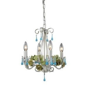 Four Light Mini Chandelier