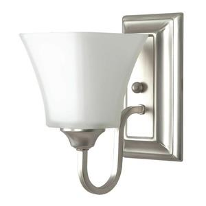 One Light Square Wall Sconce