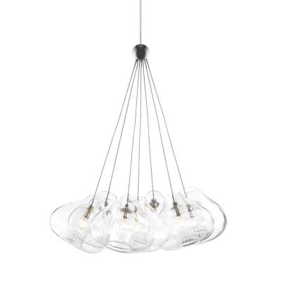 Tech Lighting 700MO2CHR7 Cheers - Seven Light Two Circuit Monorail Low Voltage Pendant