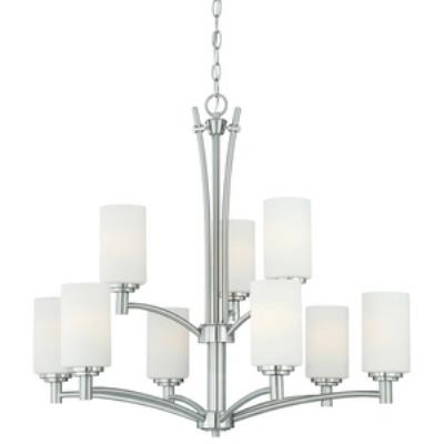 Thomas Lighting 190042217 Pittman - Nine Light Chandelier