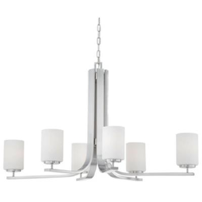 Thomas Lighting SL806978 Pendenza - Six Light Chandelier