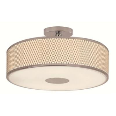 Trans Globe Lighting 10142 PC Diamond Grill - Four Light Semi-Flush Mount