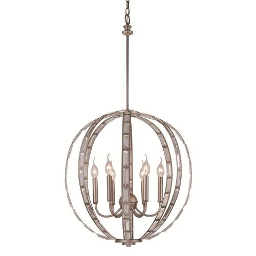 Trans Globe Lighting 10366 Asl Emporium Six Light Pendant