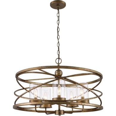 trans globe lighting 10525 asl altadena five light pendant
