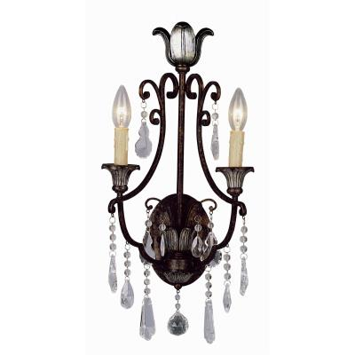 Trans Globe Lighting 3962 Flair - Two Light Wall Sconce