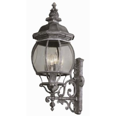 Trans Globe Lighting 4052 Classic - Four Light Wall Bracket - Up