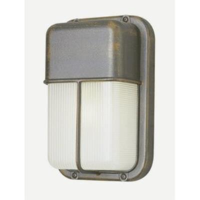 Trans Globe Lighting 41103 The Standard - One Light Outdoor Bulkhead