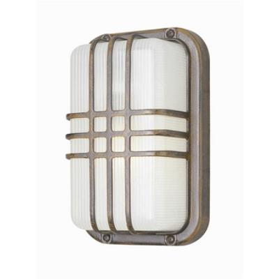 Trans Globe Lighting 41104 The Standard - One Light Outdoor Bulkhead