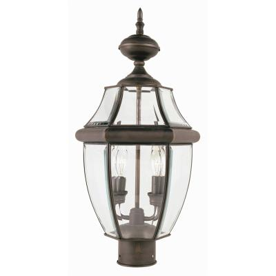 Trans Globe Lighting 4321 Classic - Two Light Outdoor Post Mount
