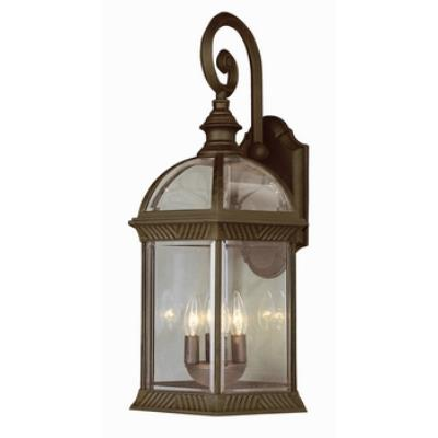 Trans Globe Lighting 44182 Classic - Four Light Outdoor Large Wall Bracket