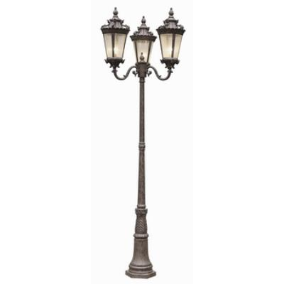 Trans Globe Lighting 4844 Three Light Outdoor Pole
