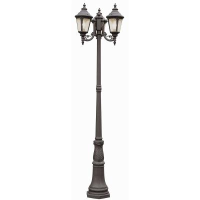 Trans Globe Lighting 5048 VG Three Light Outdoor Pole Mount