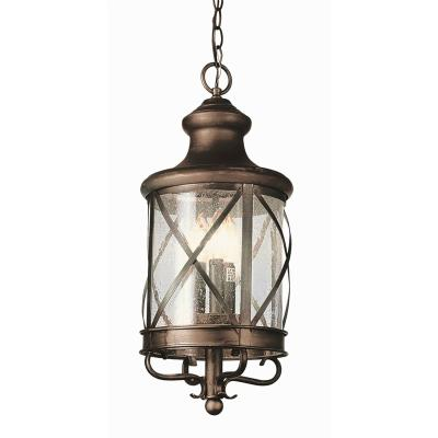 Trans Globe Lighting 5124 Three Light Outdoor Hanger