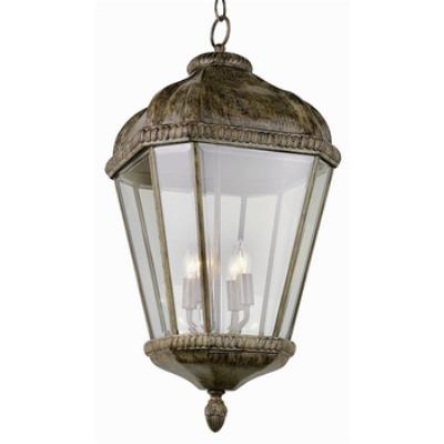 Trans Globe Lighting 5156 New American - Four Light Outdoor Hanging Lantern