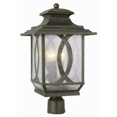 Trans Globe Lighting 5194 Estate - Three Light Outdoor Post Light