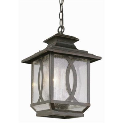 Trans Globe Lighting 5195 Estate - Two Light Outdoor Hanging Lantern