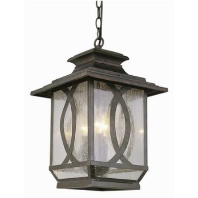 Trans Globe Lighting 5196 Estate - Three Light Outdoor Hanging Lantern