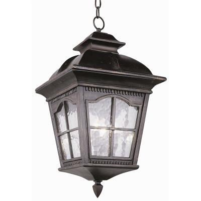 Trans Globe Lighting 5421 Chesapeake - Three Light Outdoor Hanging Lantern