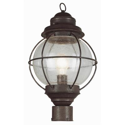 Trans Globe Lighting 69905 One Light Large Outdoor Post Mount - Onion
