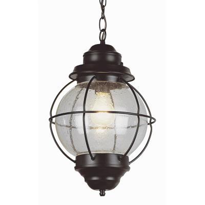 Trans Globe Lighting 69906 RBZ One Light Outdoor Large Hanging Lantern