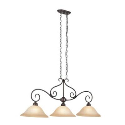 Trans Globe Lighting 70223 Victorian - Three Light Island