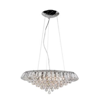 Trans Globe Lighting HE-10 SL Ten Light Pendant