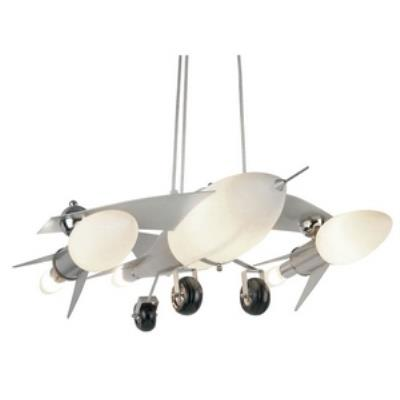 trans globe lighting kdl852 six light fighter jet airplane drop pendant - Trans Globe Lighting
