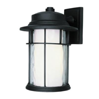 "Trans Globe Lighting LED-5291 BK LED - 14"" Outdoor Wall Lantern"