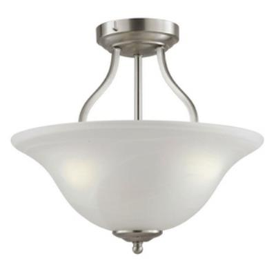 Trans Globe Lighting PL-10004 AGB Three Light Flush Mount
