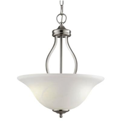 Trans Globe Lighting PL-10008 ES Traditional - Three Light Semi Flush Mount
