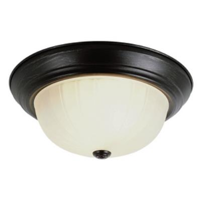 Trans Globe Lighting PL-13211-1 ROB Two Light Flush Mount