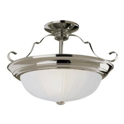 Trans Globe Lighting PL-13215 Melon - Three Light Wide Semi-Flush Mount