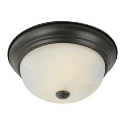 "Trans Globe Lighting PL-13617 BN Standard - Two Light 11"" Flush Mount"