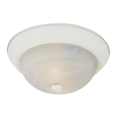 "Trans Globe Lighting PL-13618 BN Standard - Two Light 13"" Flush Mount"