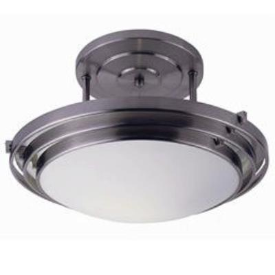 Trans Globe Lighting PL-2480 BN One Light Medium Semi-Flush Mount